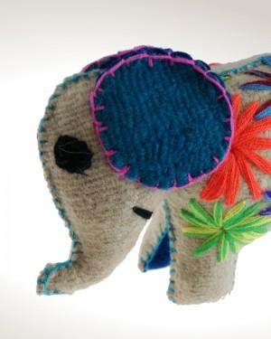 Elefante Tejido